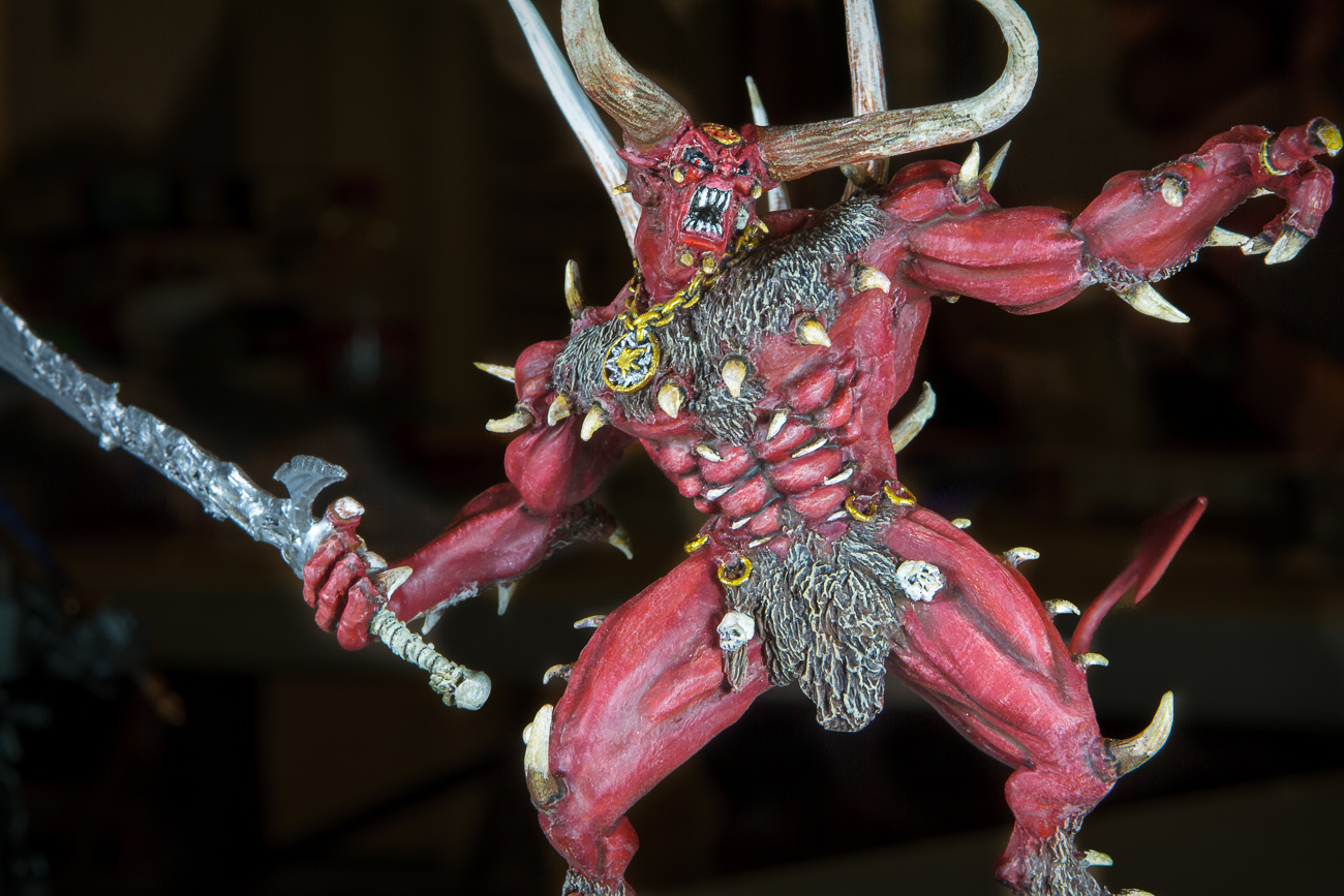 Gordon Geiger's demon figure. Pretty scary.