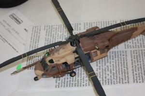 Italeri's 1:72 scale Blackhawk
