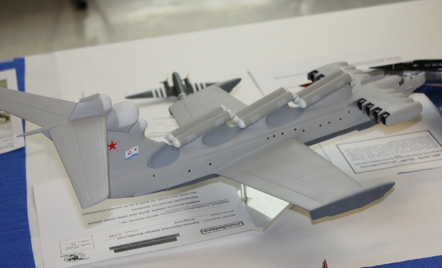 'Wing In Groundeffect; carrier killer
