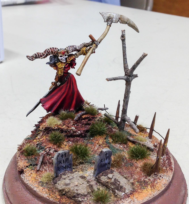 Gordon Geiger's fantasy figure