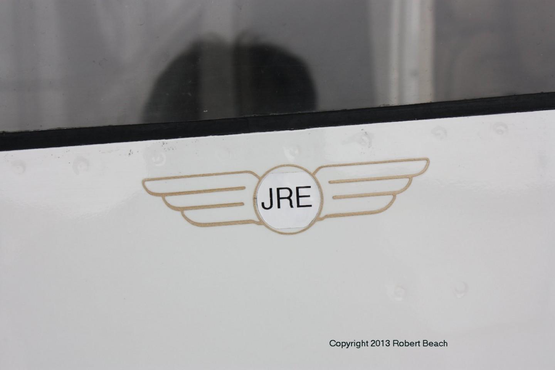 exterior_pilot door logo closeup starbdside