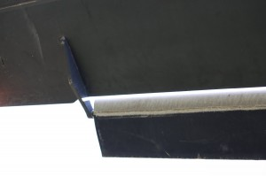 main rotor blade servo flap outer hinge