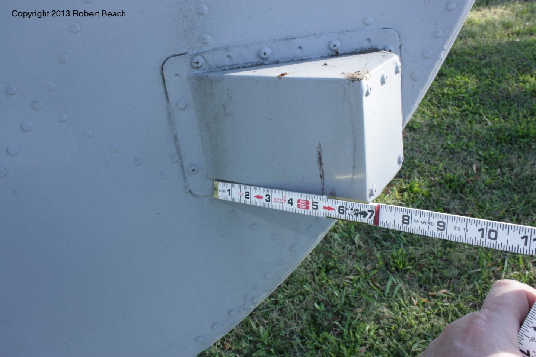 port side vert tail ECM gear mount 2