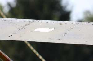port tailplane upper surface