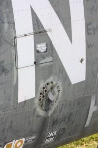 strbd aft fuselage details