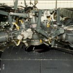 main rotor hub n aft trans deck