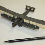 John Allen brought in an example of a 1:144 printed model (HP O-400)