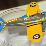 Jim Hassler's 1:72 P-26 'Peashooter' made from a vintage Revell kit & a Starfighter Decals update set