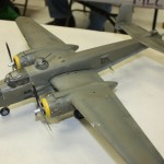 Wiley's 1:48 Monogram B-25J was nearly finished