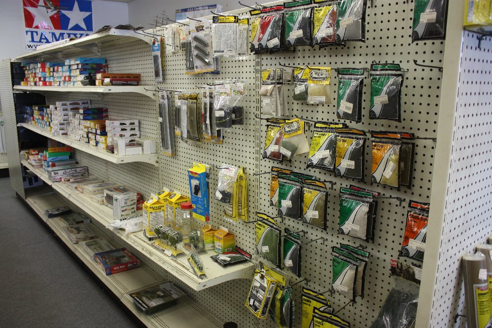 Variety of model railroad supplies