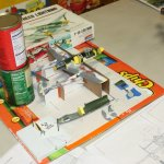 Unfinished entry by Robert Beach for a 1:48 Ki-98 Japanese WWII fighter