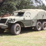 BTR-152 armored car